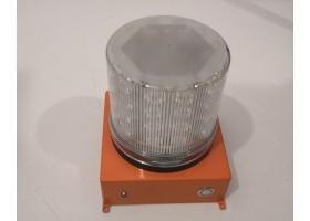 Аэродромный аккумуляторный импульсный маяк одноцветный