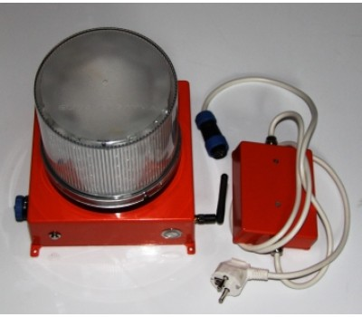 Автономный аккумуляторный импульсный маяк специальный
