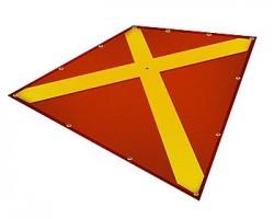 Полотнище запрета посадки на посадочной площадке