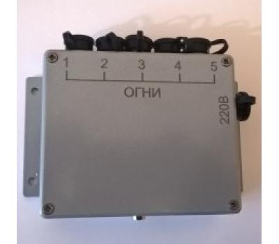 Зарядное устройство аккумуляторных огней