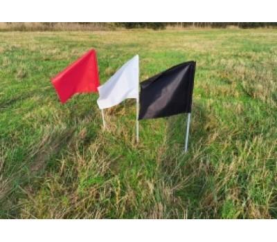 Пограничный знак Флажок, пограничные знаки на взлетной полосе ГОСТ 25269-82