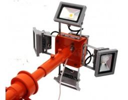 Комплект дооснащения ветроуказателя подсветкой