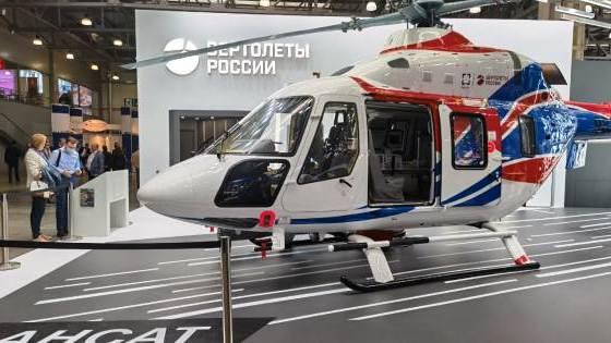 XIII Международная выставка вертолетной индустрии HeliRussia